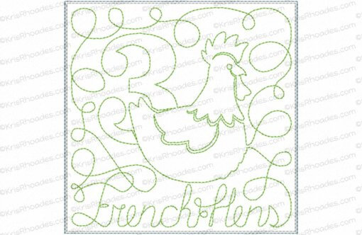 rhoades_3 french hens 5x5 single