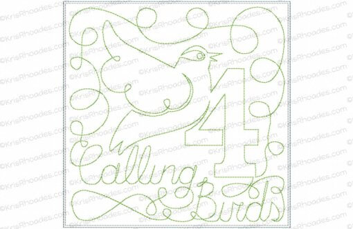 rhoades_4 calling birds 7x7 single