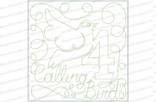 rhoades_4 calling birds 8x8 single