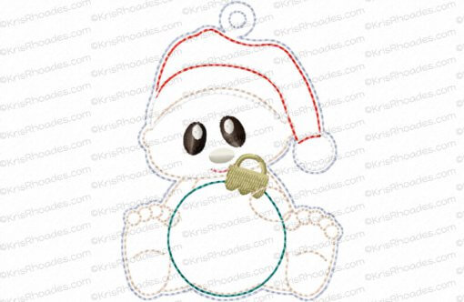 rhoades_babys christmas ornament plain