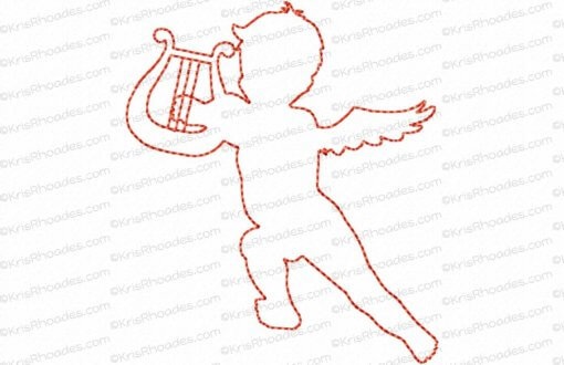 rhoades_cupid 3 silhouette outline 4x4