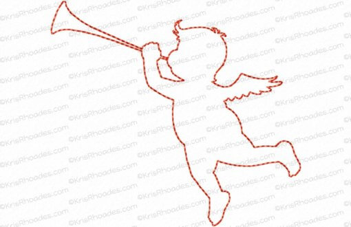rhoades_cupid 4 silhouette outline 4x4