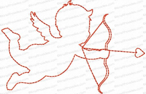 rhoades_cupid 5 silhouette outline 4x4