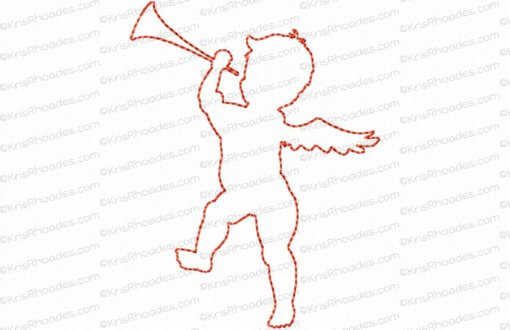 rhoades_cupid 6 silhouette outline 4x4