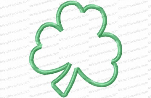 rhoades_shamrock applique 4x4