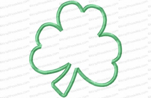 rhoades_shamrock applique 5x5