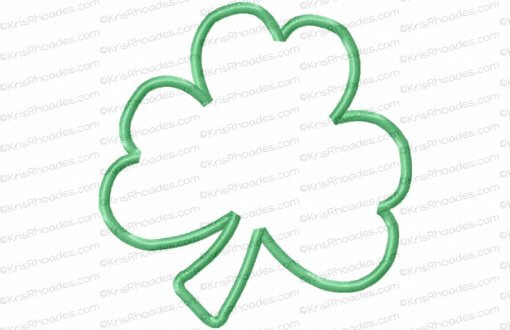 rhoades_shamrock applique 6x6