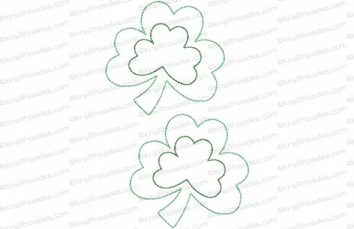 rhoades_feltie shamrock 3 inch 2up on 5x7