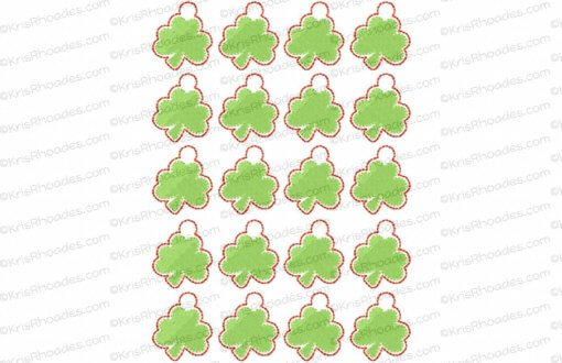 rhoades_shamrock charm 1 inch 20 up on 5x7