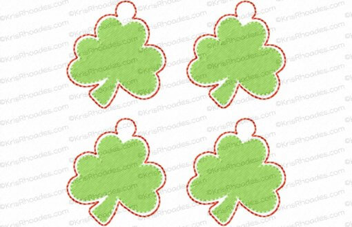 rhoades_shamrock charm 1half inch 4up on 4x4