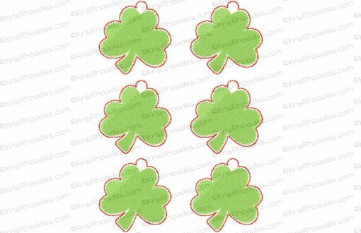 rhoades_shamrock charm 2 inch 6 up on 5x7